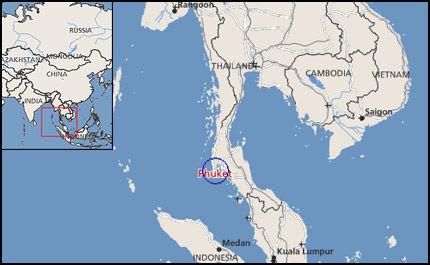 GEOGRAFIEN AVGJØREDE: Thailand er langstrakt, og landryggen Kra-eidet øst for Phuket utgjør et værskille: Vestsiden er periodevis mer utsatt for regn og vind enn østsiden og Bangkok-bukta. Kart: Kystatlas
