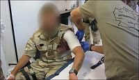 Skadet soldat krever 2,2 mill. - tilbys 500.000
