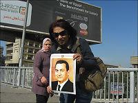 Motdemonstrasjoner sprer frykt i Egypt