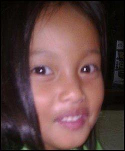 DREPT: Ellah Joy Pique (6) ble funnet drept klokken åtte torsdag morgen - to dager etter at hun skal ha blitt kidnappet utenfor skolen. Foto: Privat