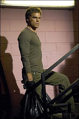 INSPIRERT: Håvard Nyfløt hevder at han var inspirert av tv-figuren Dexter. Foto: Showtime