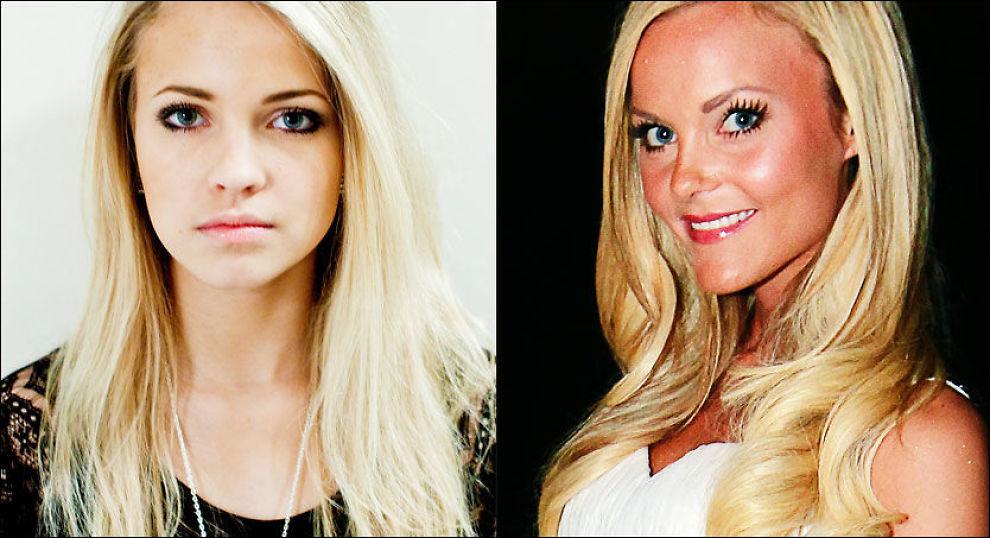 BLOGGERE: Emilie «Voe» Nereng og Caroline «fotballfrue» Berg Eriksen. Foto: Sara Johannessen/VG/Scanpix
