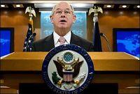 USA-talsmann trekker seg etter krikk av Pentagon