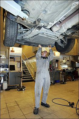 GODR RUSTET: Jo bedre du sjekerk bilen på forhånd, jo bedre rustet er du hvis du må klage. Foto: Knut Erik Knutsen
