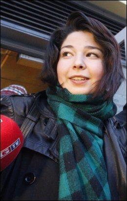 KOM TILBAKE: Maria Amelie kom tilbake til Norge lørdag kveld. Foto: Scanpix