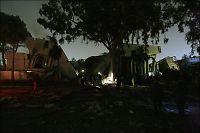 NATO-fly angrep Gaddafis hovedkvarter