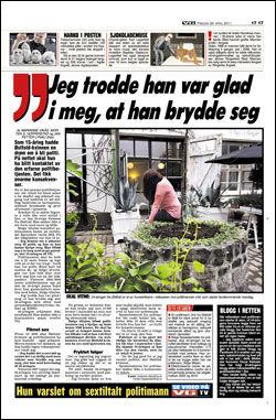 Faksimile: VG (29.04.2011)