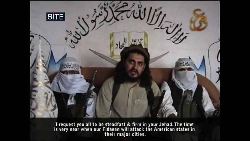 TRUER: Pakistansk Taliban (TTP) truer USA og pakistanske myndigheter med terrorangrep etter at Osama bin Laden ble drept. Her et bilde av gruppens antatte leder, Hakimullah Mehsud. Foto: AFP