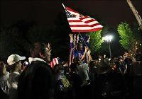 Amerikanerne feirer bin Ladens død i gatene