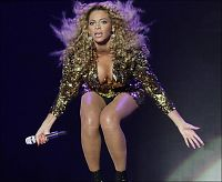 Dristig Beyonce rocket Glastonbury