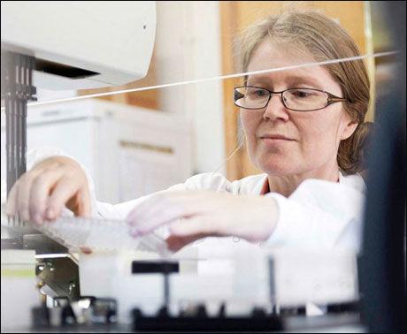 GENENE BESTEMMER: - Gener bestemmer mye, men overvekt kan også forebygges med en sunn livsstil, sier Helga Refsum. Foto: Alzheimer's Research UK.