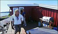 Siv Jensen tar med TV-seerne på hytta