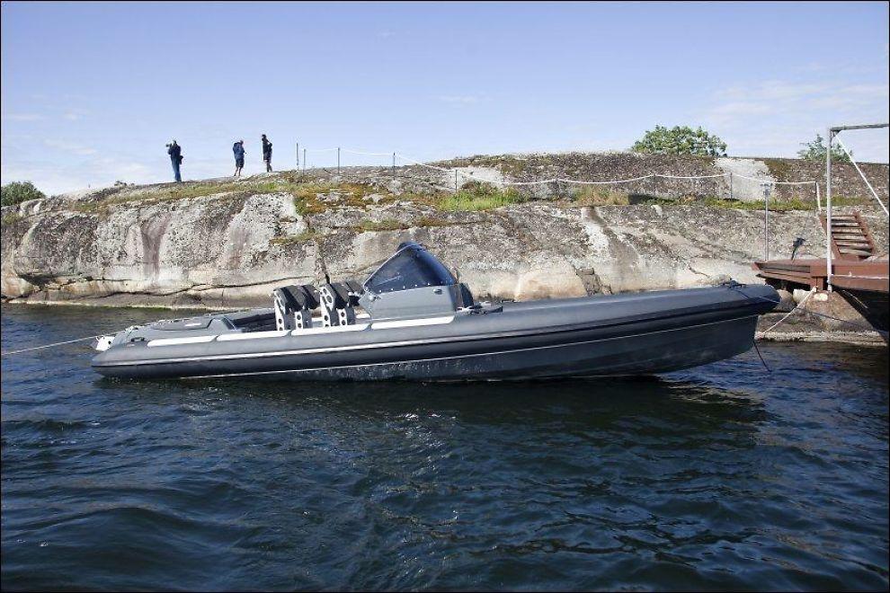 ULYKKESBÅTEN: Kiwi-sjef Per Erik Burud ble ilagt et forenklet forelegg på 1500 kroner for å ha kjørt for fort med den samme båten i forrige uke. Foto: Alf Øystein Støtvig, VG