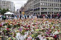 Terrorofrene minnes over hele landet i kveld