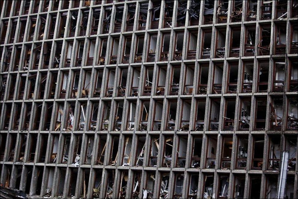 nyheter innenriks terrorangrepet juli etterforskningen noen steder er kontorene helt tomme alt inven