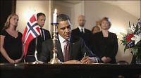 Obama signerte kondolanseprotokoll