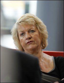 KJENTE TIL BREIVIK-KJØP: PST-sjef Janne Kristiansen bekrefter at Breiviks navn har vært fremme i forbindelse med det polske firmaet. Foto: Scanpix