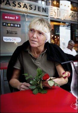 OVERLEVDE: Line Nersnæs var heldig. Tresplinten gikk ikke så langt inn at den forårsaket alvorlige skader, men hun måtte sy 27 sting. Foto: Ole-Martin Grav/VG