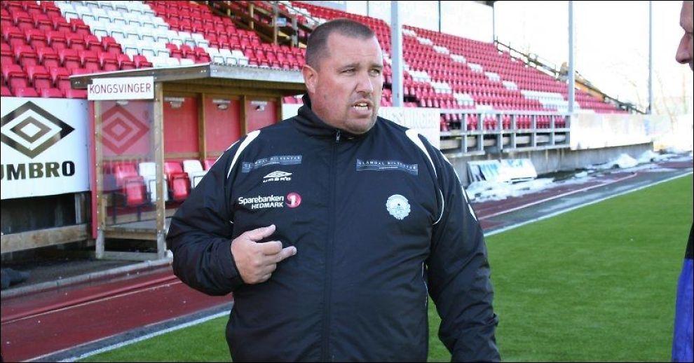 KIL-KLAR! Tom Nordlie tar over Kongsvinger - for andre gang i løpet av trenerkarrieren. Foto: Jamel Rake