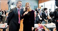 Rød blokk holder ledelsen i Danmark