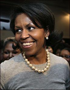 LIKER Å DANSE: Presidentfrue Michelle Obama. Foto: VG