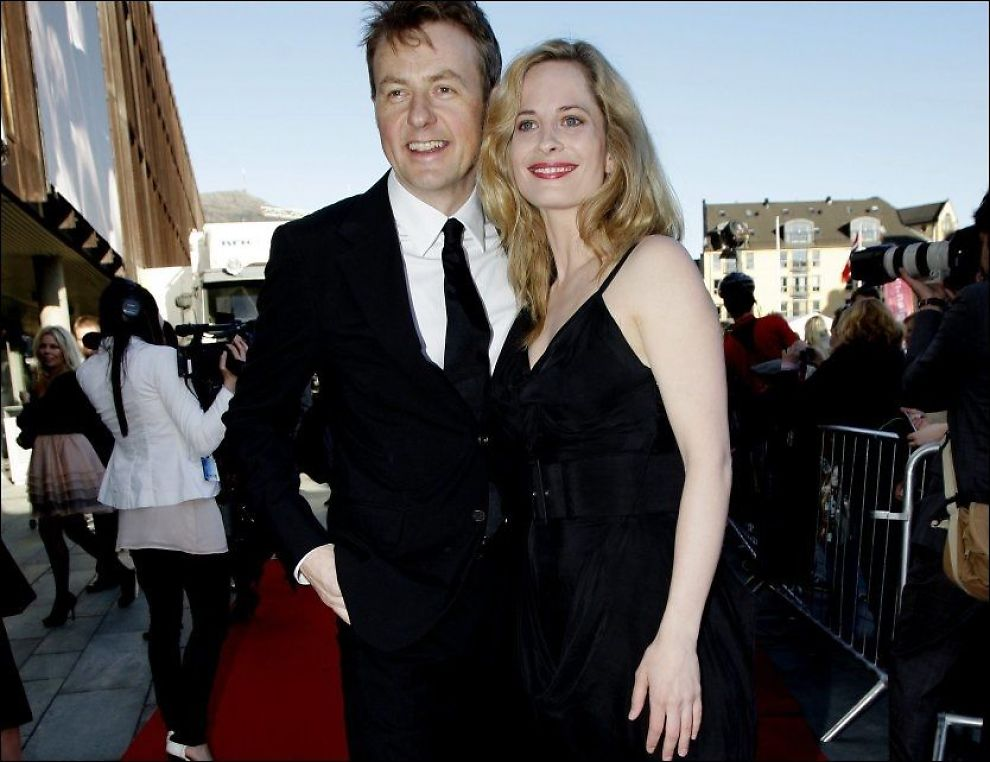 ENDELIG SAMMEN: Fredrik Skavlan og Maria Bonnevie på Gullruten i Bergen i 2010. Foto: PAUL SIGVE AMUNDSEN/VG