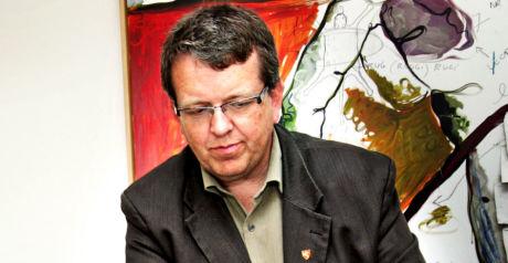 SIKTET: Ordfører Rune Øygard er siktet for seksuell omgang med en mindreårig. Foto: FRODE HANSEN