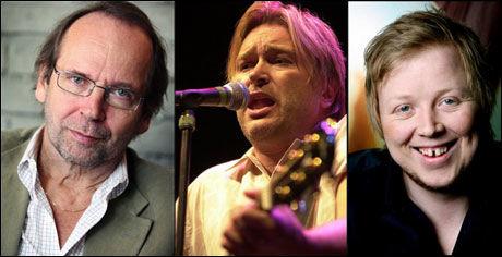 DELTAR: Ole Paus, Kurt Nilsen og Jørn Hoel er alle med på platen. Foto: VG
