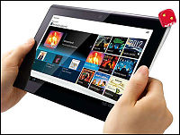 Test av Sony Tablet S