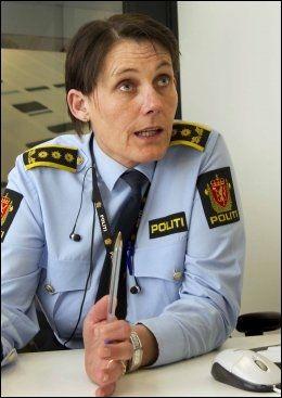 FORTSETTER POLITIETTERFORSKNINGEN: Kriminalsjef Nina Karstensen Bjørlo. Foto: Frode Hansen