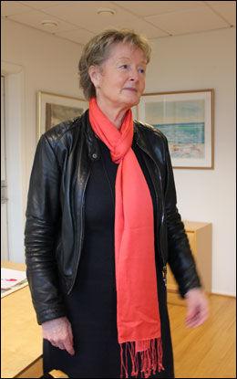 FÅR STØTTE: Rektor ved Bjekre videregående skole Gro Flaten. Foto: Sindre Murtnes