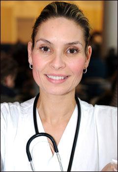 Overlege Samira Lekhal. Foto: VG