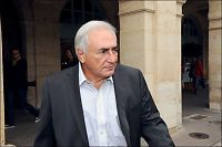 Strauss-Kahn gjør comeback