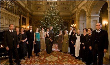 2. JULEDAG: Julespesial med «Downton Abbey» på NRK1. Foto: NRK
