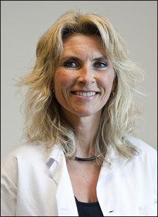 I fagpanelet: Line Kristin Johnson er klinisk ernæringsfysiolog og PhD-stipendiat ved Senter for sykelig overvekt i Helse Sør-Øst, Sykehuset i Vestfold, samt ved Nasjonalt kompetansesenter for kvinnehelse ved Rikshospitalet. Foto: Alf Øystein Støtvig