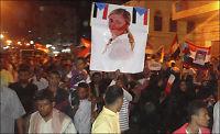 Demonstrerte for Martine i Jemen