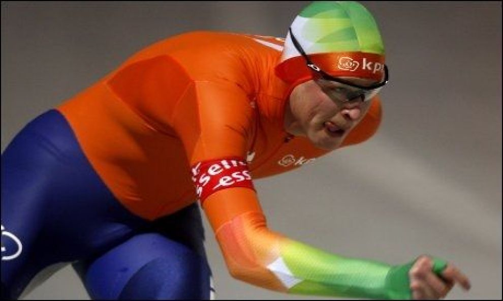 TILBAKE: Sven Kramer var suveren på på 5000 meter i allround-EM i Budapest. Foto: Reuters