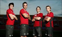 Fire debutanter mot Danmark