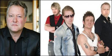MGP-KLARE: Plumbo (t.h.) er aktuelle i Melodi Grand Prix med en låt som er svært lik en Egil Hjorteset (t.v.) skrev for flere år siden. Foto: NILS BJÅLAND OG KRISTIN TØMMERVÅG/NRK