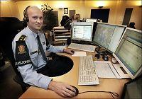 Falsk politi-tvitrer forsvant