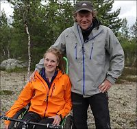 «Ingen grenser»-Birgit til Skavlan