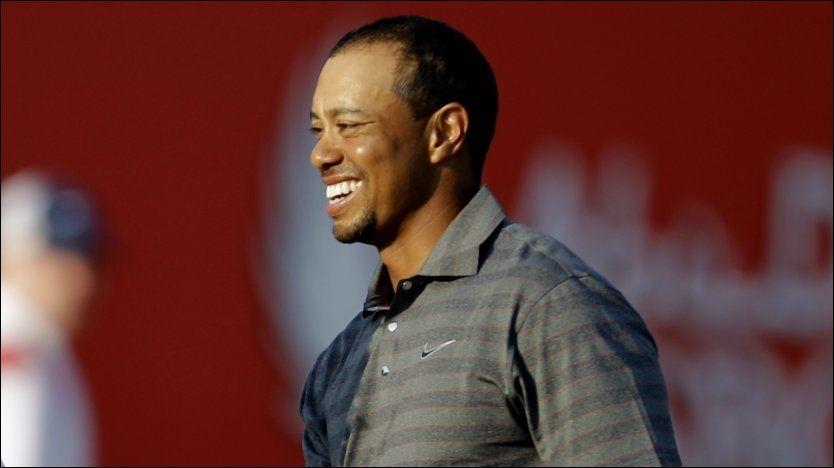 Woods kjemper om seieren