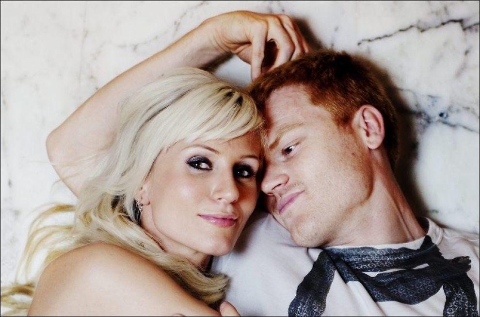 SKILLES: John Arne og Maria Riise har valgt å avslutte ekteskapet. Her er de fotografert for et VG Helg-intervju i mars i fjor. Foto: Andrea Gjestvang / VG