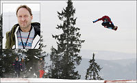 Snowboardekspert: Skudd for baugen at favoritten røk