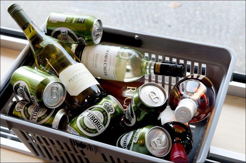 FOR MYE?: Den nye studien viser at hele seks av ti menn kan være i faresonen når det kommer til å drikke for mye. Foto: Espen Braata/VG