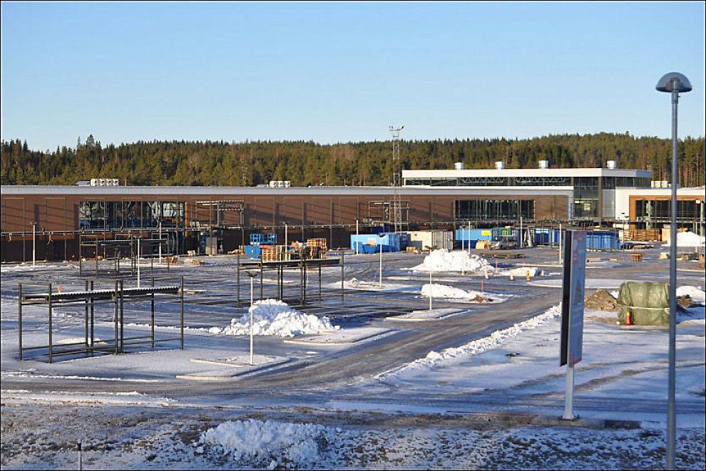 MER HARRYHANDEL: Töckfors handelspark vil ta opp kampen med Thon og regner med å omsette for 700 millioner første året.
