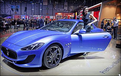 Maserati Gran Turismo Sport. Foto: Mattis Sandblad