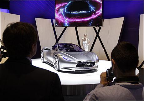 Nissan Infiniti Emerg-E Concept. Foto: AP.