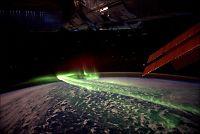 Slik er polarlyset fra verdensrommet