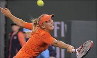 Wozniacki fikk trøbbel med svensk motstander